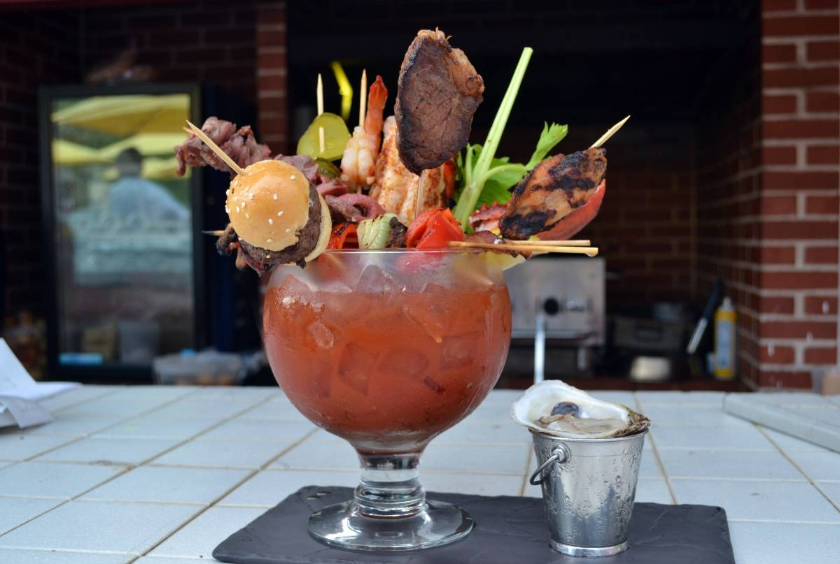 The Dock at the Waterlot Inn – The Ridiculous Caesar – Photo by Kristin Tablang