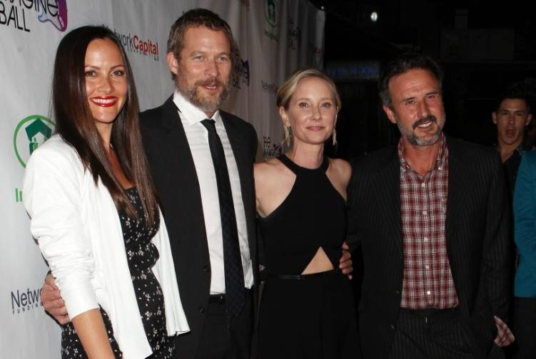 David Arquette, Christina McLarty, James Tupper & Anne Heche