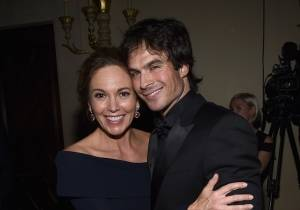 Diane Lane and Ian Somerhalder