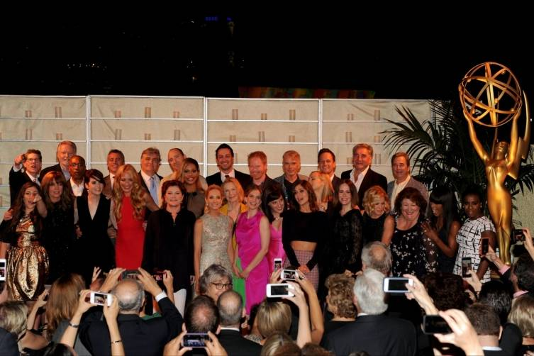 Group Photo of Nominees at TV Academy Performers Nominee Reception