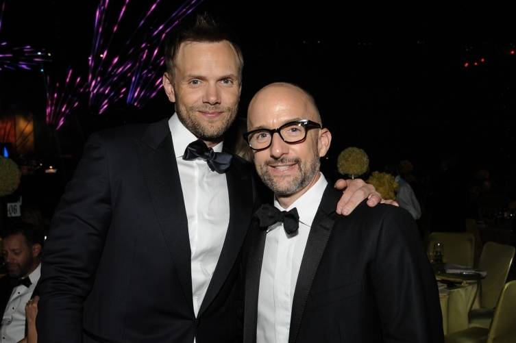 Joel McHale and Jim Rash