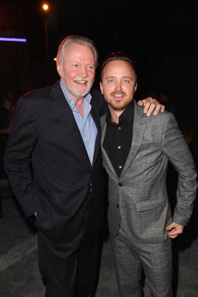 Jon Voight and Aaron Paul