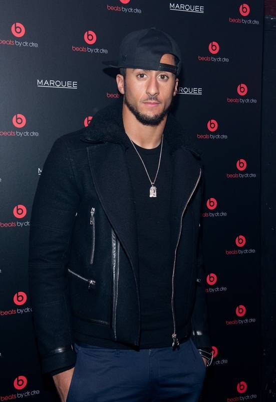 Colin Kaepernick at Beats by Dr. Dre X GRAFF Special Event