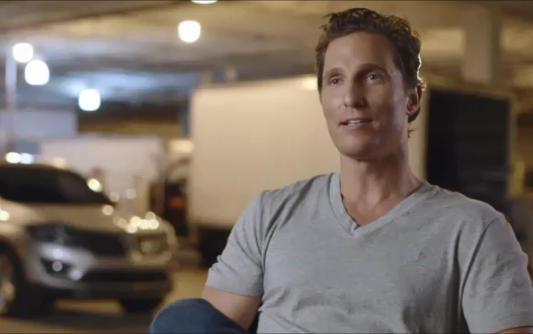 Matthew McConaughey for Lincoln
