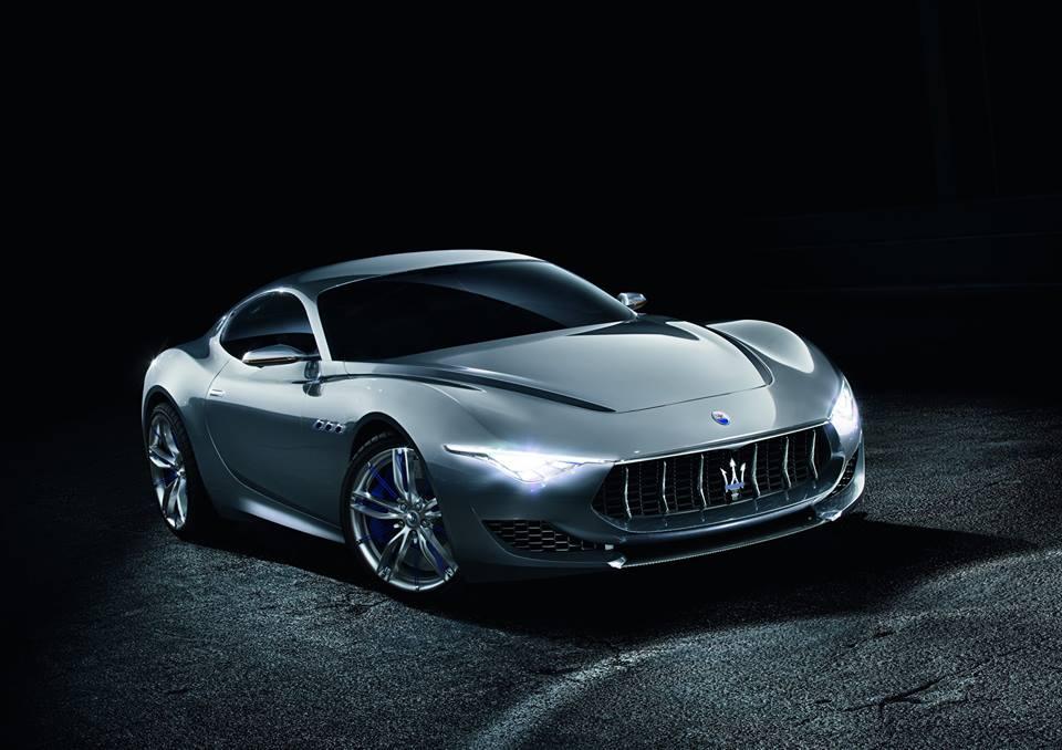 Maserati Alfieri Concept Car  image via facebook/pebblebeachconcours