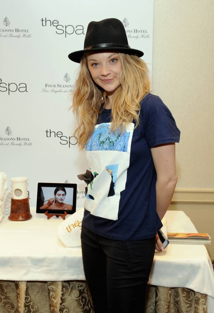 Natalie Dormer at theHBO Luxury Lounge featuring Pandora Jewelry