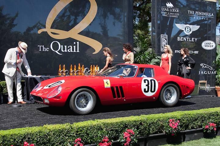 The Quail, A Motorsports Gathering  Image via sportscardigest.com