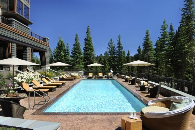 Ritz-Carlton Lake Tahoe Spa Pool