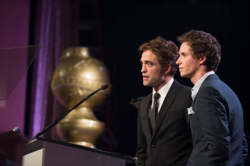 Robert Pattinson & Eddie Redmayne