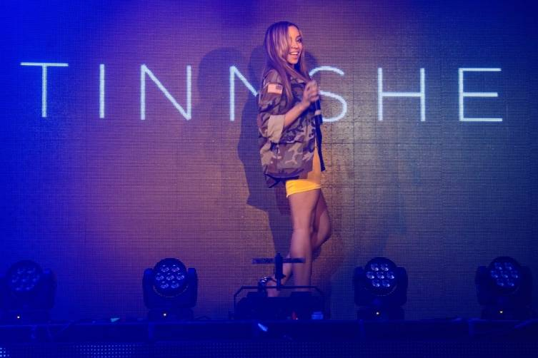 Tinashe takes over Tao. Photos: Al Powers/Powers Imagery