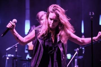 Tove Lo and band at The Sayers Club Grand Opening. Photos: Brenton Ho/Powers Imagery