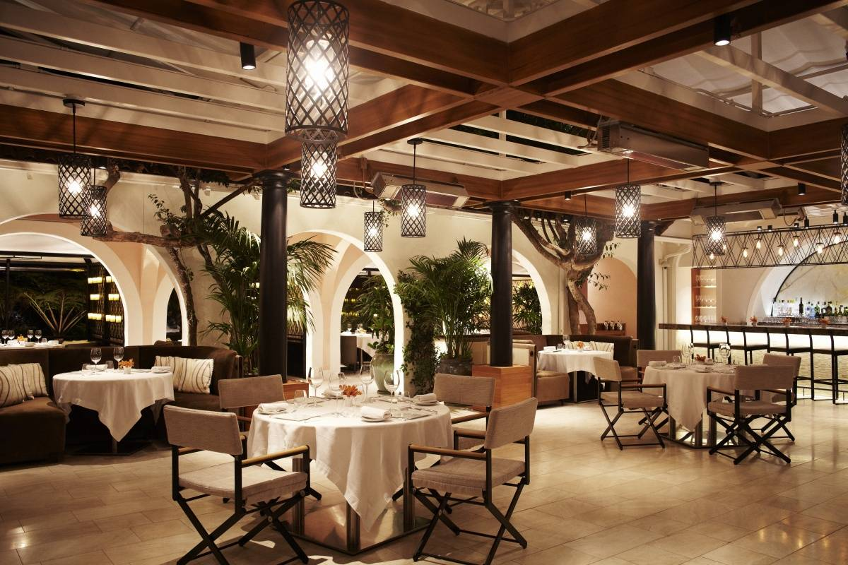 Wolfgang puck at hotel bel air for Best private dining rooms los angeles