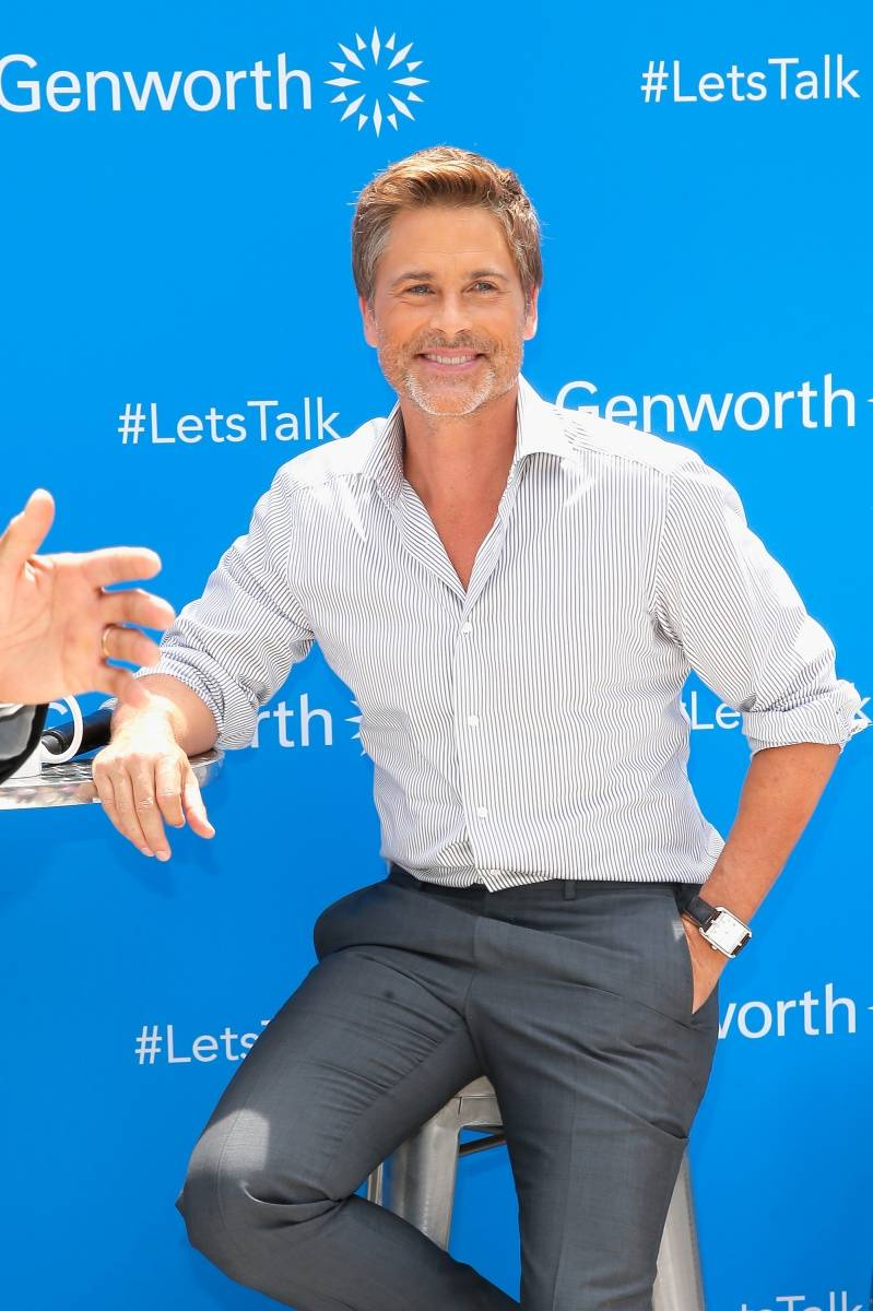 Rob Lowe on Genworth's #LetsTalk tour