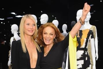 Gwyneth Paltrow and Diane von Furstenberg