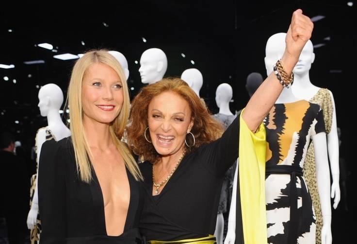 Gwyneth Paltrow and Diane von Furstenberg