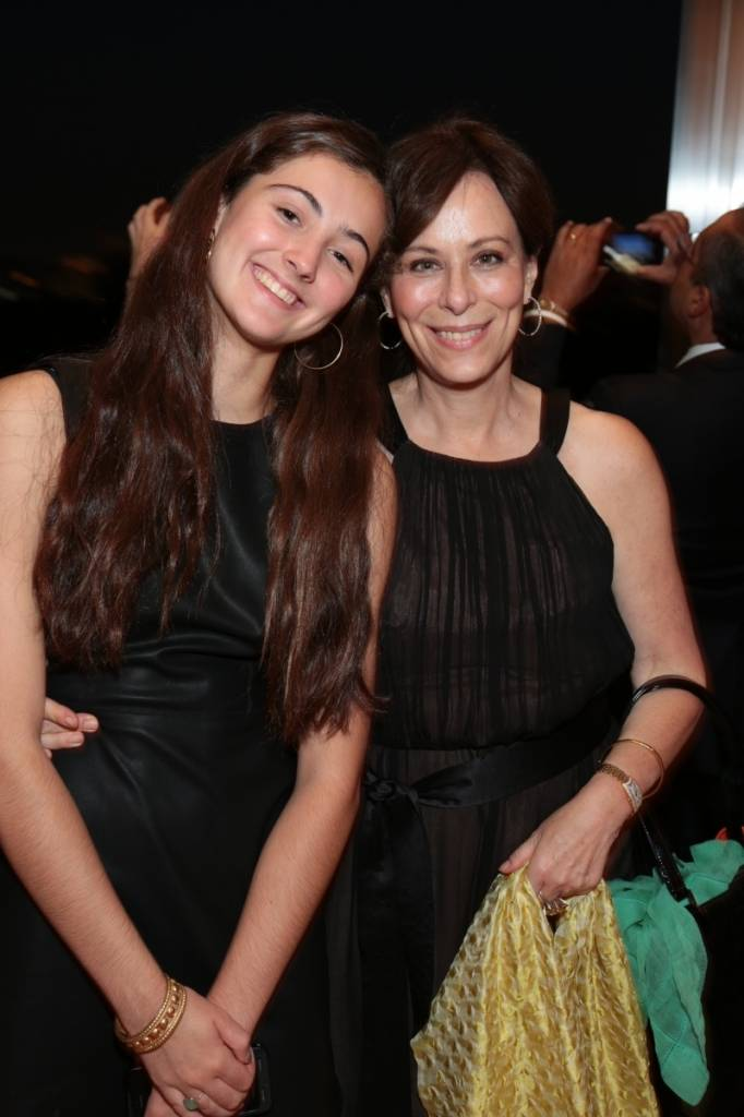 Jane Kaczmarek (right) with daughter Frances Whitford