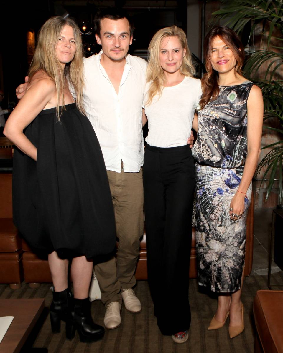 Yvonne Force Villareal, Rupert Friend, Aimee Mullins, Doreen Remen