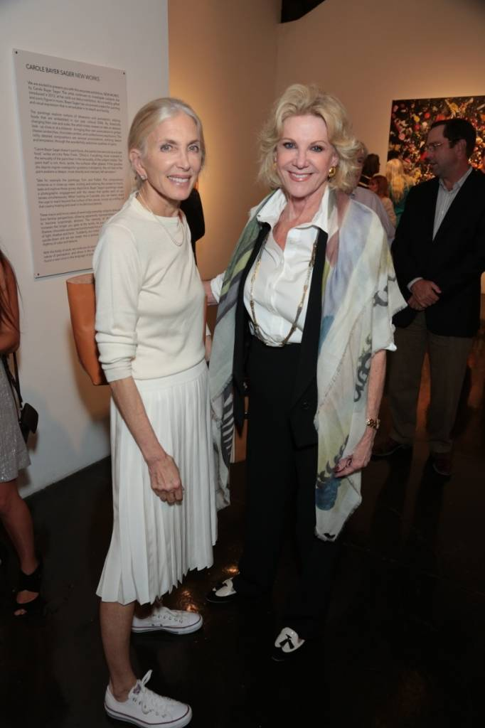 Barbara Guggenheim and Elaine Wynn