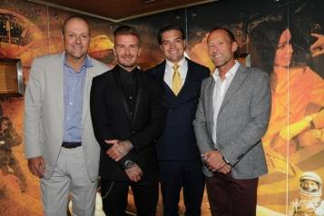 Breitling Team with David Beckham in New York Boutique