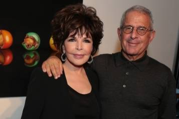 Carole Bayer Sager and Ron Meyer