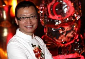 Chef Tony Hu at Lao Sze Chuan at Palms