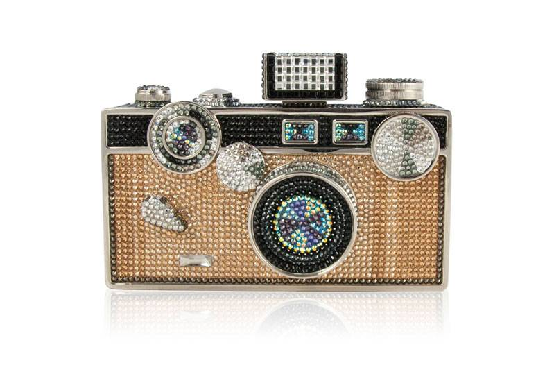 Judith Lieber's Bedazzled Click Clutch Is Worth All Four Figures