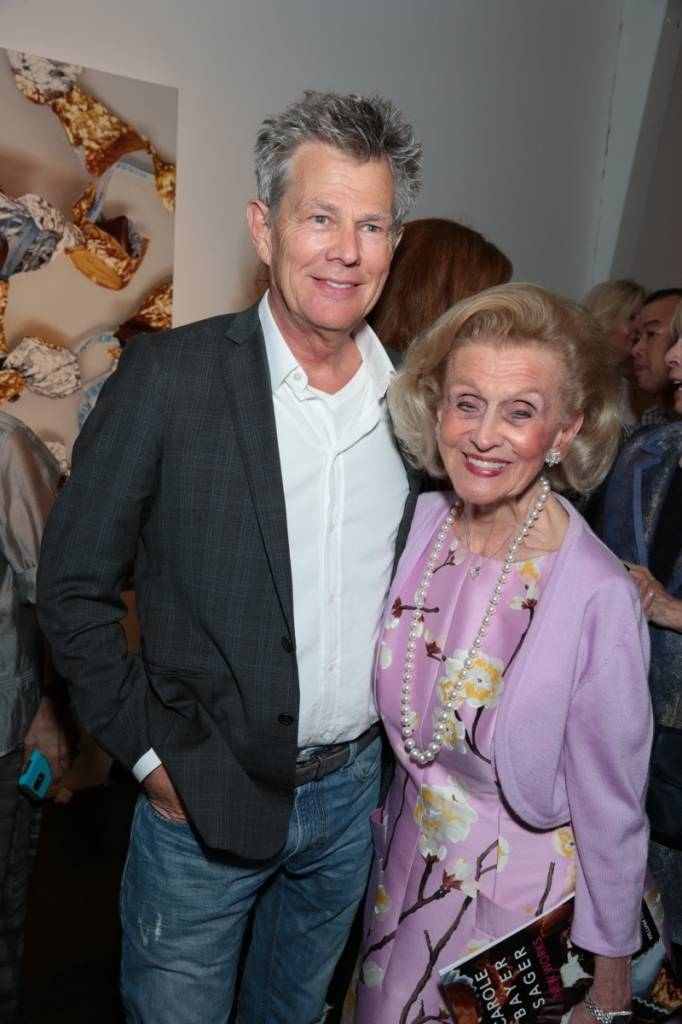 David Foster and Barbara Davis