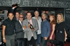 Emilio Estefan, Ross Mathews, Lance Bass, Kathy Griffen and Lea Black _0475