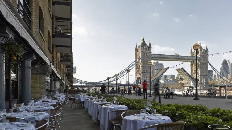 London's Le Pont de la Tour Is Serving Some of the City's Most Exciting Dishes