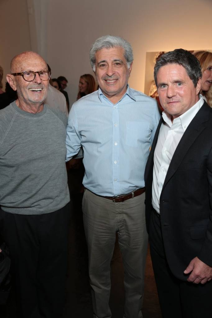 Mo Ostin, Terry Semel and Brad Grey