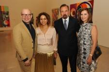 Thom Collins, Frances Sevilla-Sacasa, Beatriz Milhazes & Jorge M. Perez