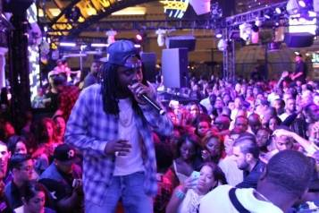 Wale on stage at Chateau