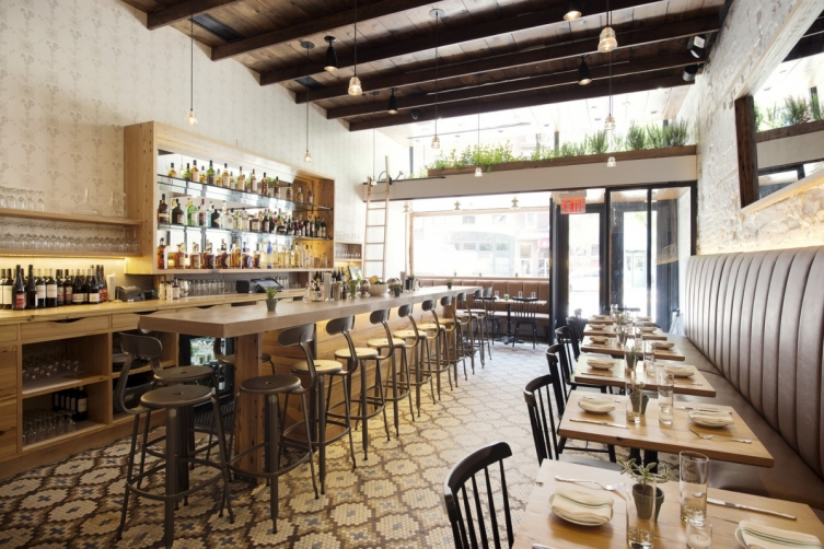 The new michelin starred restaurants in new york city for Living room steakhouse brooklyn
