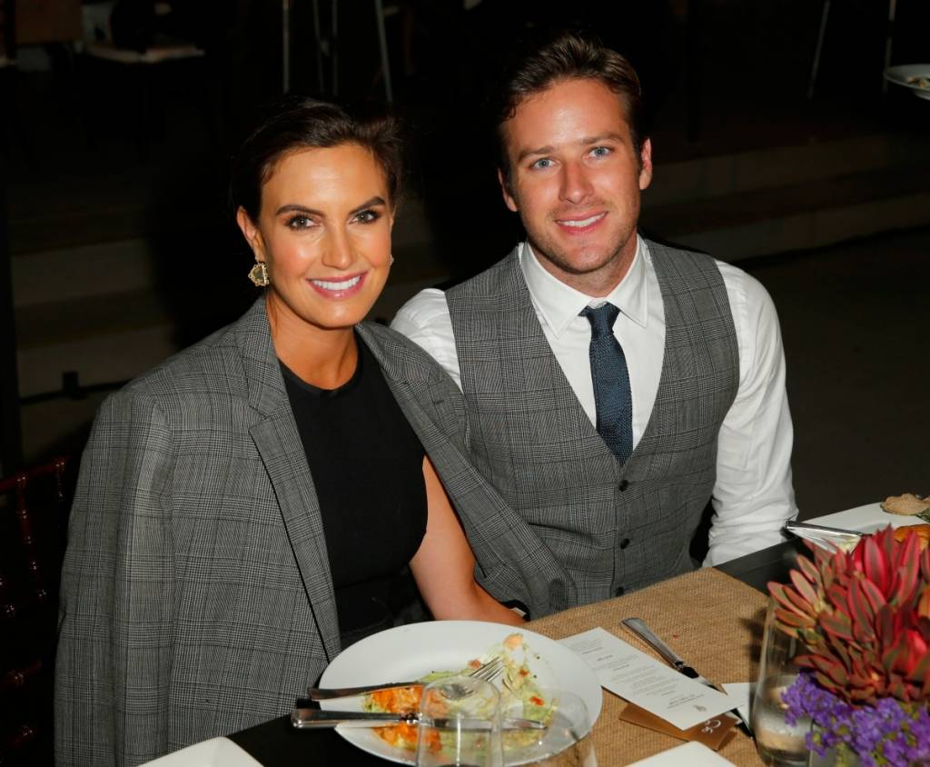 Chambers and husband Armie Hammer attend the Los Angeles Philharmonic Opening Night Gala Honoring John Williams