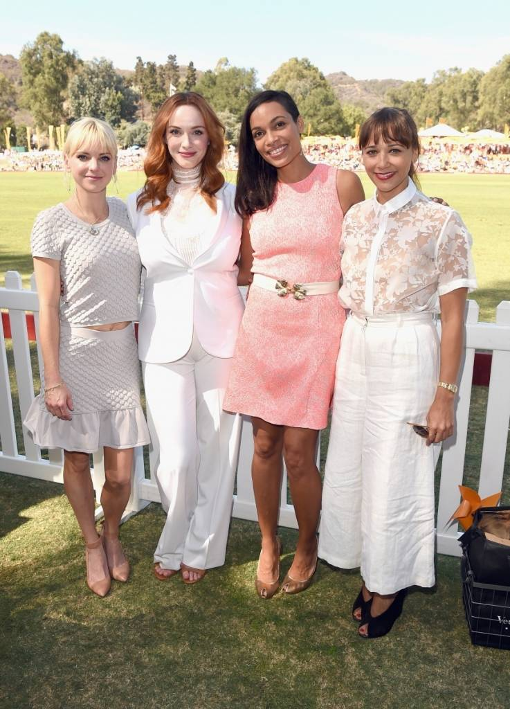 Anna Faris, Christina Hendricks, Rosario Dawson + Rashida Jones