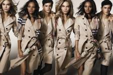 Cara Delevingne, Malaika Firth and Tarun Nijjer featuring in the Burberry Autumn_Winter 2014 Campaign