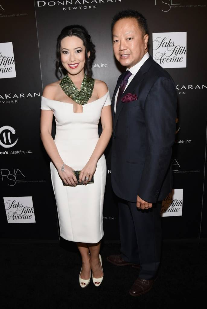 Christine and Dr. Gabriel Chiu