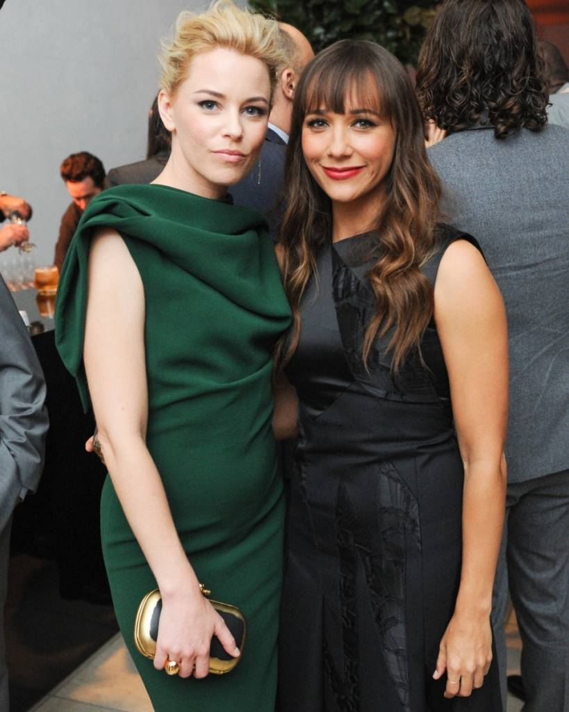 Elizabeth Banks and Rashida Jones