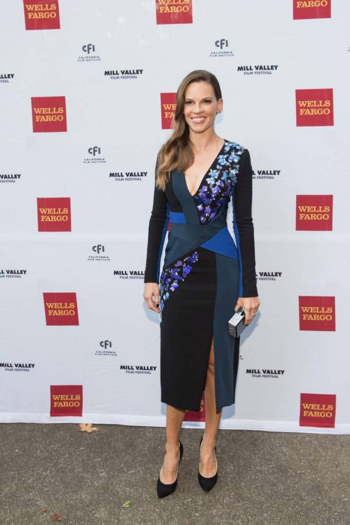 Hillary Swank at the opening of the Mill Valley Film Festival