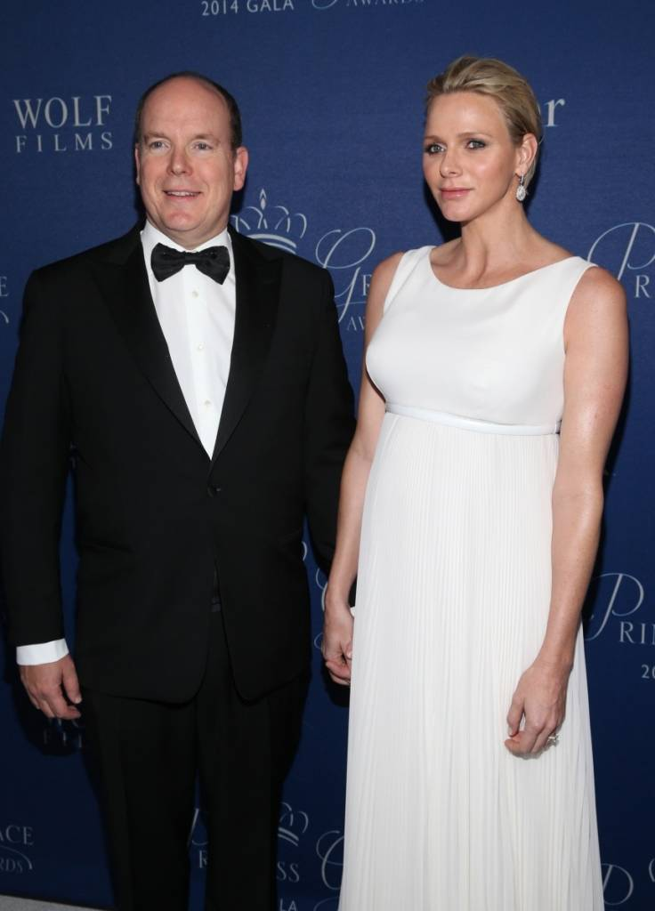 His Serene Highness Prince Albert II of Monaco and Her Serene Highness Princess Charlene of Monaco