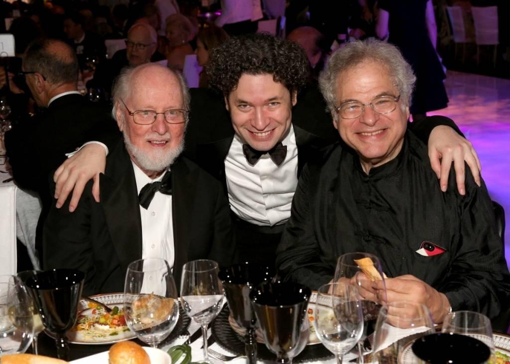 John WIlliams, Gustavo Dudamel & Itzhak Perlman