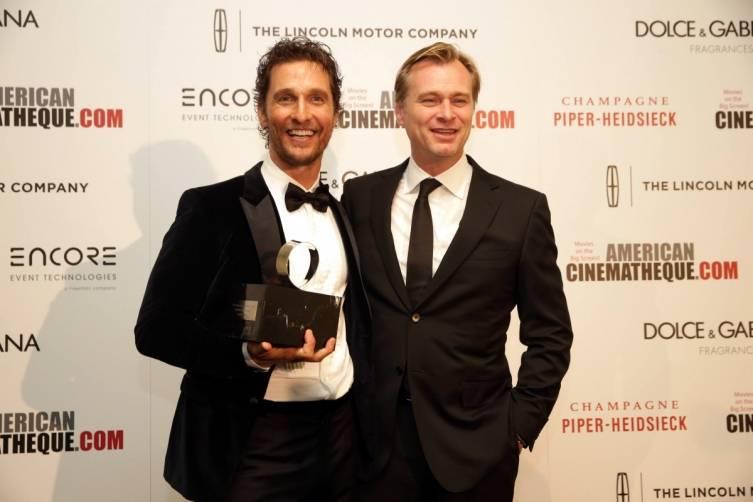Matthew McConaughey & Christopher Nolan