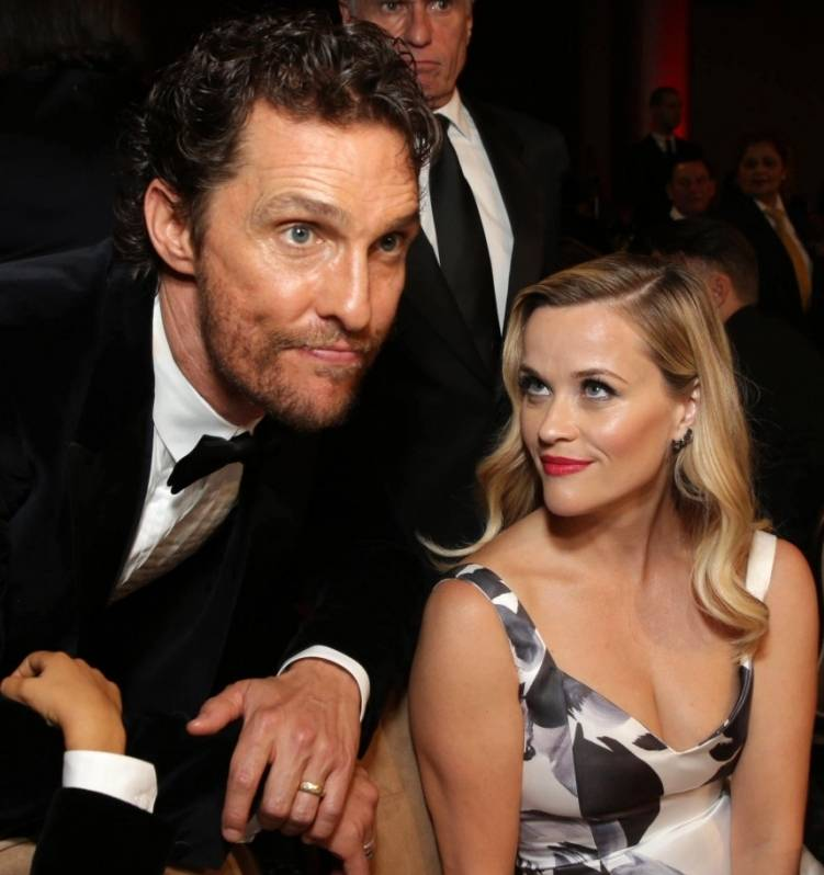 Matthew McConaughey and Reese Witherspoon