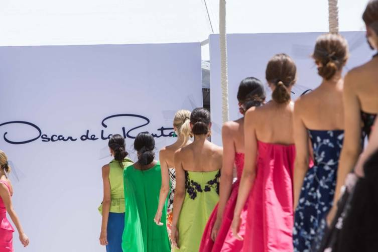 Oscar de la Renta Save Lake Tahoe fashion show
