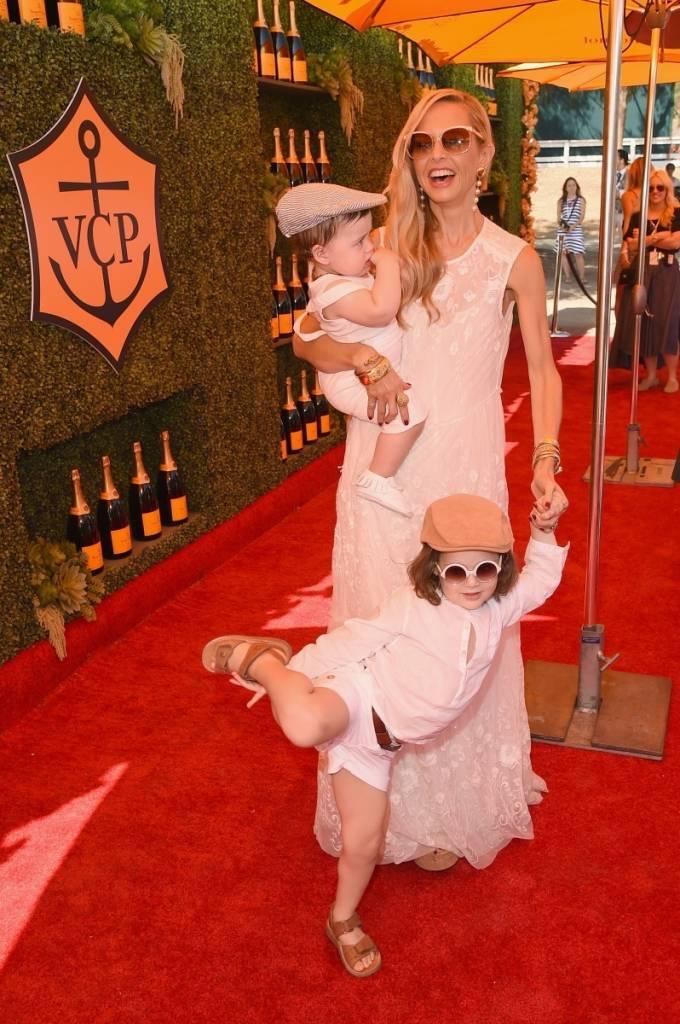 Rachel Zoe + sons Kaius Jagger and Skyler Morrison