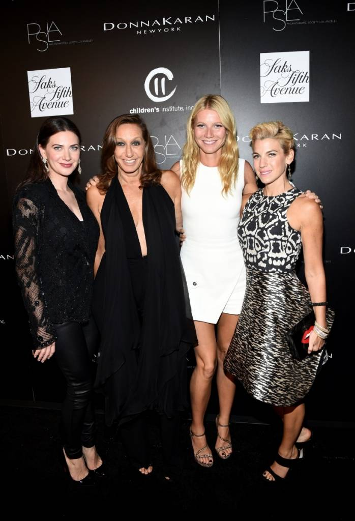 Rochelle Gores Fredston, Donna Karan, Gwyneth Paltrow + Jessica Seinfeld