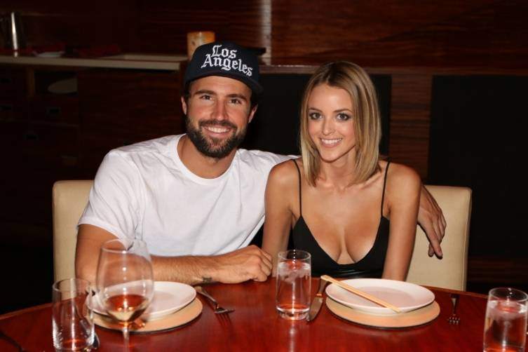 Brody Jenner and Kaitlynn Carter at Stack. Photos: Bryan Steffy/Wireimage