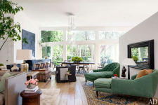 Patrick Dempsey's Frank Gehry Home