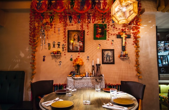 Get transported to Mexico City for dinner in Mayfair