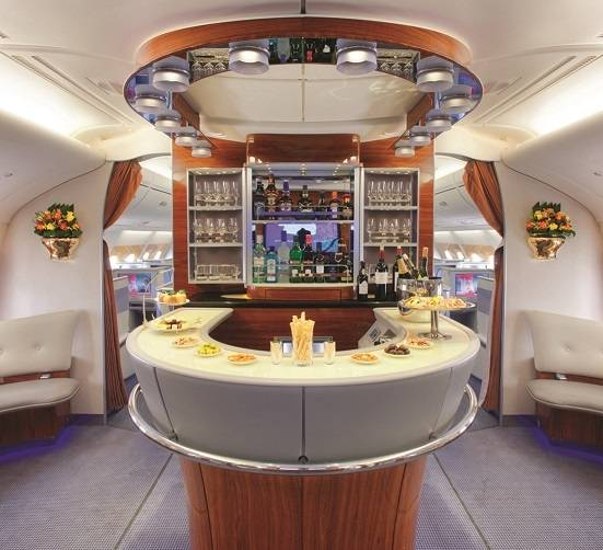 A380 Onboard Lounge